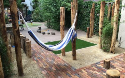 Kinderdagverblijf tuin