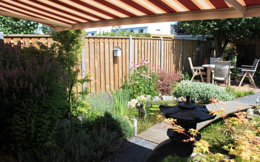 Miniparadijsje tuin