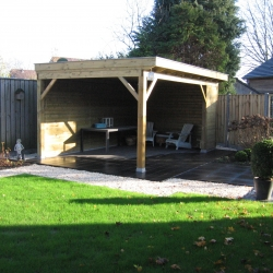 Voorbeeld ontwerp achtertuin